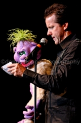 Comedian Jeff Dunham (and Peanut)
