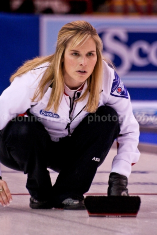 Curling World Champion and Olympic gold medalist Jennifer Jones